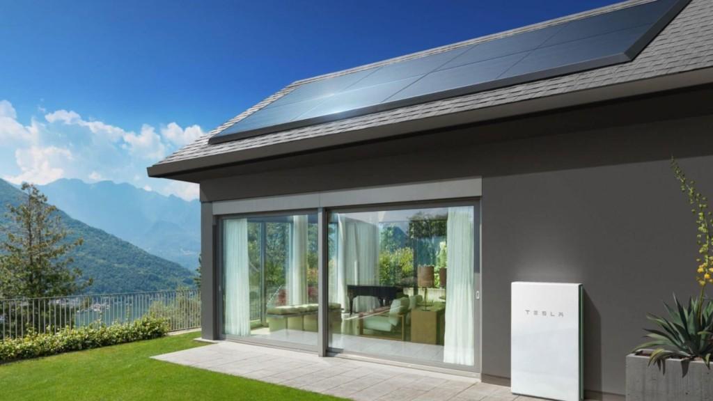 Tesla Solar Panels and Tesla Powerwall