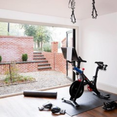 Home Gym Folding Doors