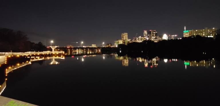 Austin by night