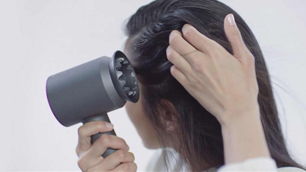 Gentle Dyson Hair Dryer