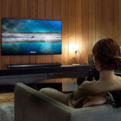 Oled TV amenity