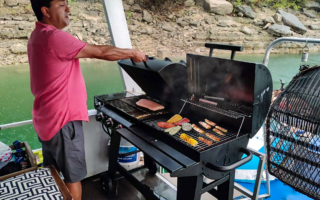 grill on board